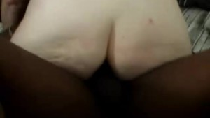 Mature redhead anal fucked by a black man