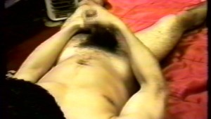 Stroking It On The Red Sheets (clip)