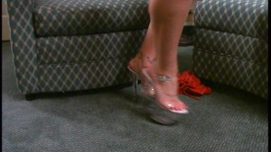 Showing Off Her Hooker Heels