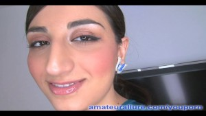 Naughty Arab Babe Swallows Cum