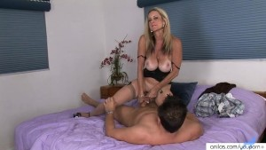 Milf drains a dick empty