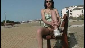 18yo girl nude in public
