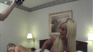 Tessa and Teena Marie Double Dildo Crazy Fun