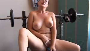 Big tits MILF is feeling horny