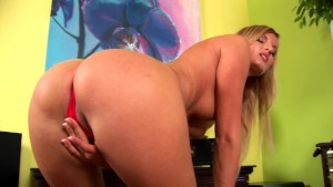 Hot solo scene with Paola