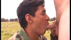 Shoot (your load) soldier - Latin-Hot