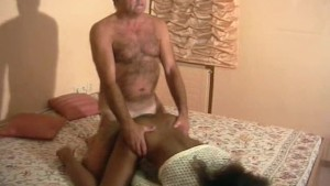 Old guy fucks a black girl - Inferno Productions