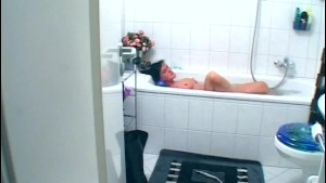 Shaving and playing in the bath - Venality Productions