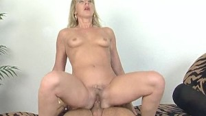 German blonde gets a nice fuck - Inferno Productions