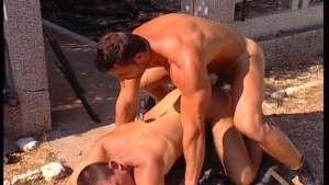 Army guys ass-fucking XXX