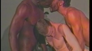 Threesome Bareback Style - his video