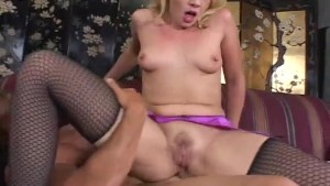 Blonde In Sexy Lingerie - Future Works