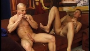 Two Guys On a Couch - Clydesdale Studios
