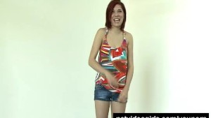 Proud Barista in her Calendar Audition - netvideogirls