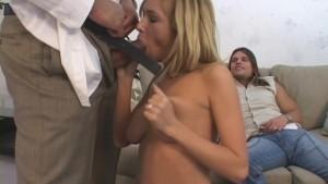 Super-Sized Cock Splits Tight Wife