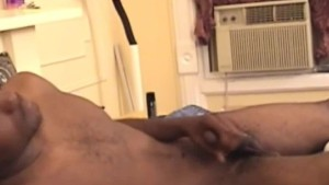 Black poove from Florida jerking off