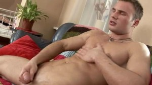 slovak guy Stefan masturbating dick