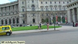 Sweet Kety Pearl Naked On Public Streets