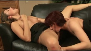 Allie Haze and Annabelle Lee are Ass Eating Lesbos
