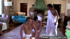 College boys face humiliation as initiation