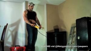 Cumming Muscle Carpenter!