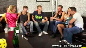 Truth or dare bisexual orgy