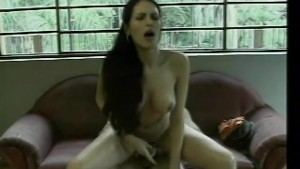 This hot tranny gets a hot pounding - Rain Productions