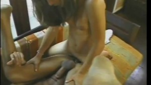 Guy gets sucked and fucked by a shemale - Jet Multimedia