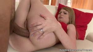 Young cutie getting her ass pumped