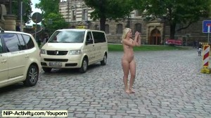 Spectacular Public Nudity With Horny Czech Babes