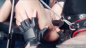 HarmonyVision Sexy big tits officer fucked