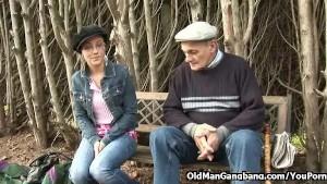 A fucking welcoming grandpa
