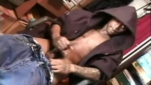 Smoking hot thugs jacking off - Encore Video
