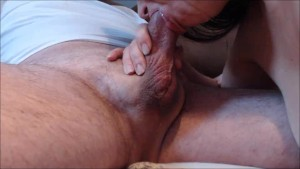 Hypospadias Cock spasams and unloads massive load in mouth