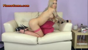 Huge Tits Blonde Helly Hellfire Cam Show
