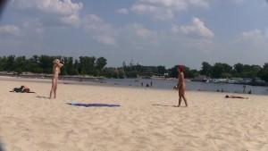 a public beach can t keep these slut nudists down