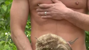 Muscled Hunk Fucks Tavern Boy Outside - Foerster Media