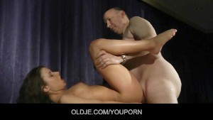 Young student fucking her Oldje teacher