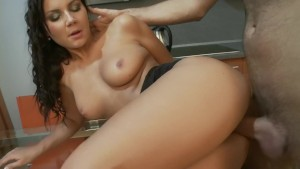 Petite Nataly in the kitchen- Playvision