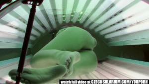 VOYEUR Real Footage from a SPY CAMERA in Solarium