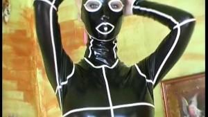 Crazy morphing into a sexy comic manga girl