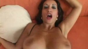 Milf replaces dinner by a big cock and its load - Chris Charming