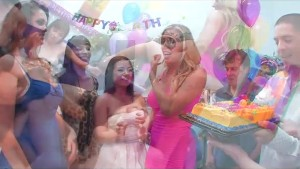 Samantha Saint Birthday Orgy