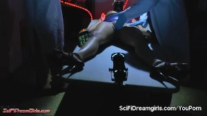 SciFiDreamgirls Fembot Sex With Ashley Fires. Episode #4: HRX 0070 Body Sensory Test