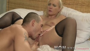 MOM Blonde MILF s and their lovers