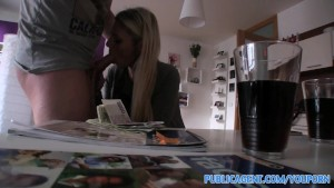 PublicAgent HD Hot blonde English tutor fucks her student