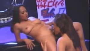Tied Up, Chains, Strap-on And Two Asians