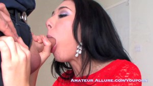 Adorable horny 20 year old gives hot suck and fuck and swallow.