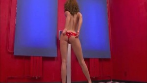 Red Haired Teen Strip