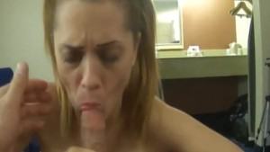 Blown By My Hot Wife Before Work